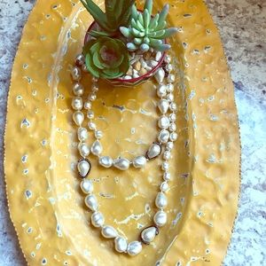 Chico's Oversized Pearl Strand Necklace!